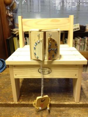 木工:びっくり箱