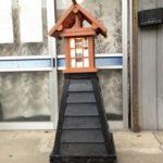 木工のおじさんが作った灯籠