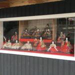 昭和初期のお雛様三人官女、五人囃子、右大臣、左大臣