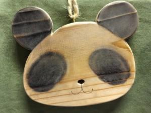 パンダの鍋敷き