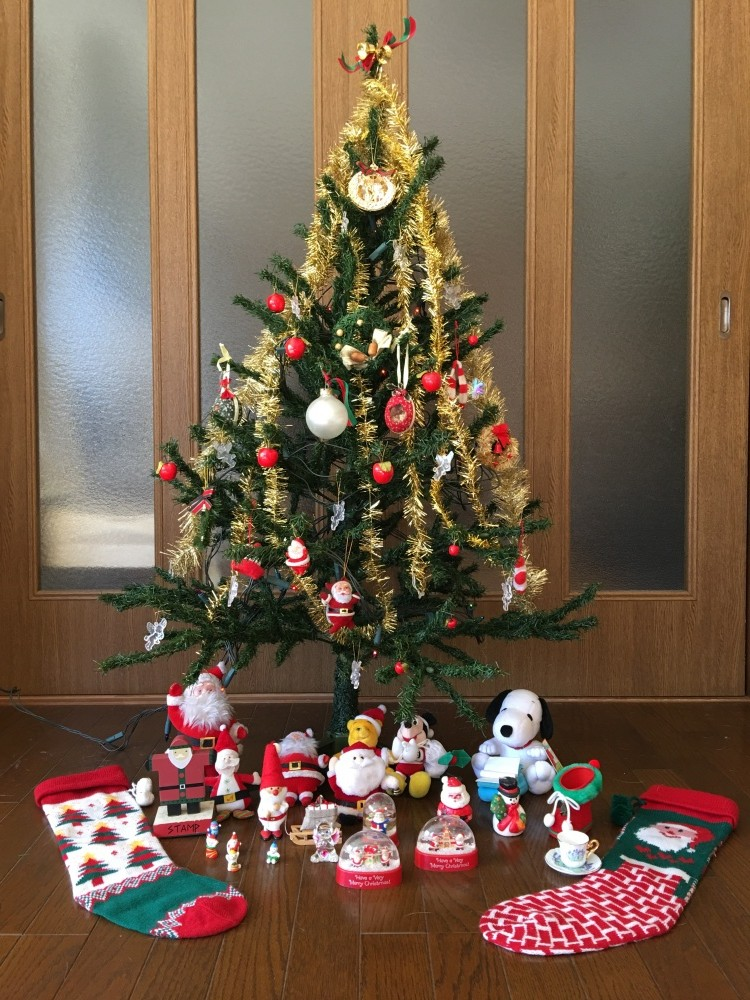 我が家のクリスマスツリー