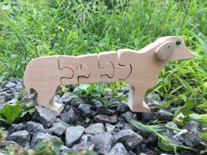 パズルの犬1