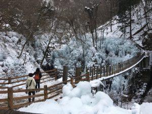 尾ノ内渓谷吊り橋
