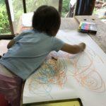 2歳の画伯