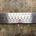彫金の道具線引き板