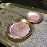 銅のお皿づくり