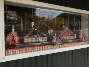 昭和40年代の雛飾り