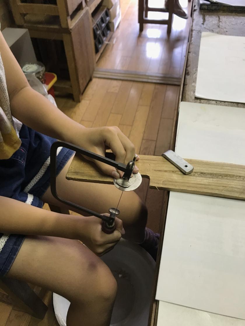 初めての糸鋸